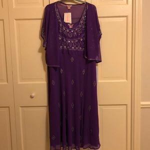 Simply Be long beaded dress